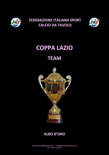 ALBO D'ORO TEAM - TSC Black Rose '98 Roma