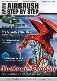 How to create, draw and brush your own creatures - Airbrush Step ...