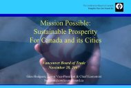 Sustainable Prosperity For Canada and its Cities - Vancouver Board ...