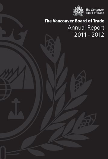 The Vancouver Board of Trade's 2011-2012 Annual Report