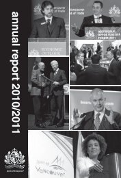 Annual Report 2011 - Vancouver Board of Trade