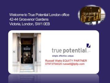 London office - Panacea