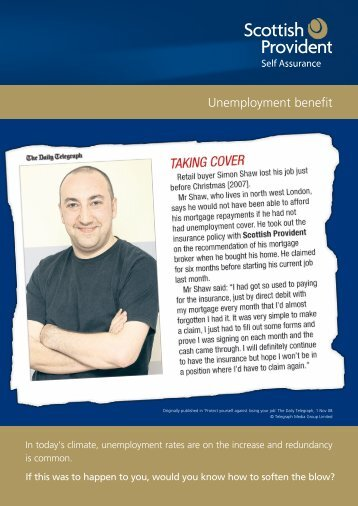 Unemployment Benefit - APPROVED - Panacea