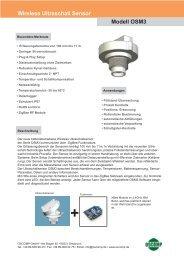 Wireless Ultraschall Sensor - Oscomp