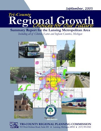 Summary Report for the Lansing Metropolitan Area - Tri-County ...