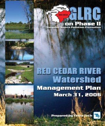 Red Cedar River Watershed Management Plan - Greater Lansing ...