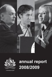 annual report 2008/2009 - Vancouver Board of Trade