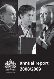 annual report 2008/2009 - Vancouver Board of Trade