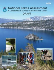 National Lakes Assessment - Ohio Environmental Protection Agency