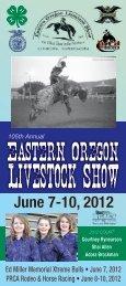 June 7-10, 2012 - Eastern Oregon Livestock Show
