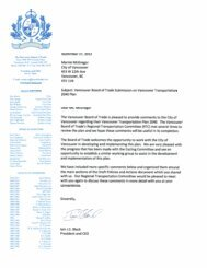 Download the letter [PDF] - Vancouver Board of Trade