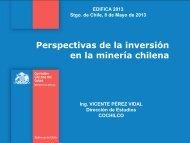 Perspectivas de la inversión en la minería chilena - Comisión ...
