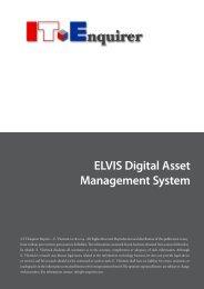 ELVIS Digital Asset Management System - IT Enquirer