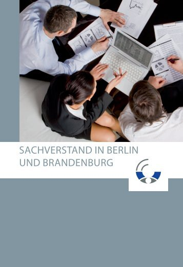 SACHVERSTAND IN BERLIN UND BRANDENBURG - IHK Berlin