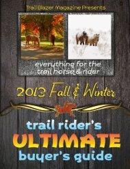horse containment. . 20 - Trail Blazer Magazine