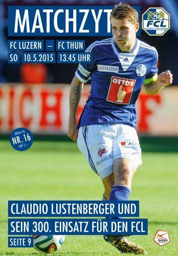 FC LUZERN Matchzytig N°16 14/15 (RSL 32)