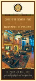 Download Hotel Brochure with Directions & Map - Quartz Mountain ...