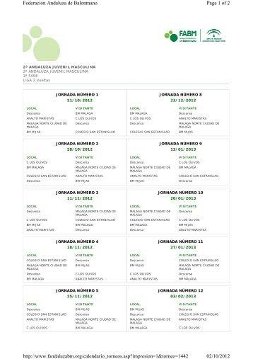 Page 1 of 2 Federación Andaluza de Balonmano 02 ... - Sek Malaga