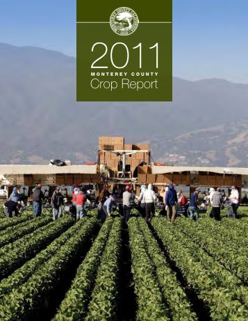 Crop Report - Monterey County Agriculture Commissioner's Office