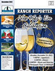 New Year's Eve Celebration - Heritage Ranch