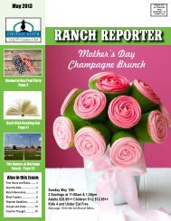 Mother's Day Champagne Brunch - Heritage Ranch