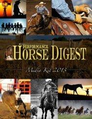 Download 2013 Media Kit - Horse Digest