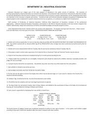 DEPARTMENT 20 - INDUSTRIAL EDUCATION - Silver Dollar Fair