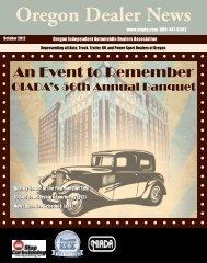October 2012 - Oregon Independent Automobile Dealers Association