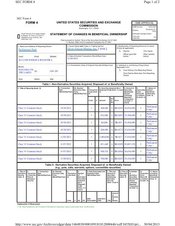 Page 1 of 2 SEC FORM 5/A 03/05/2013 http://www.sec.gov/Archives ...