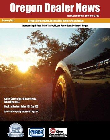 February 2012 - Oregon Independent Automobile Dealers Association