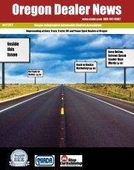 April 2012 - Oregon Independent Automobile Dealers Association