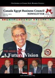 CEBC Event - Canada Egypt Business Council