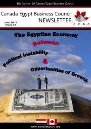 June 13 - Canada Egypt Business Council