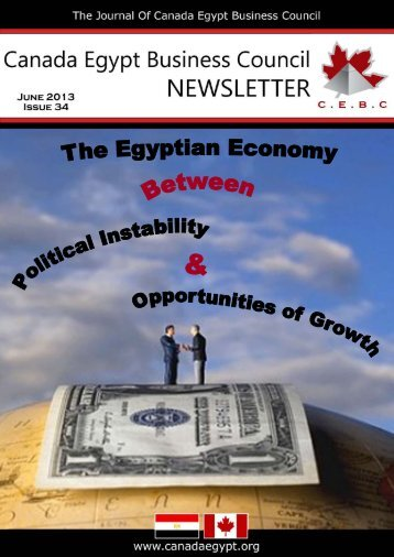 June 13 - Canada Egypt Business Council