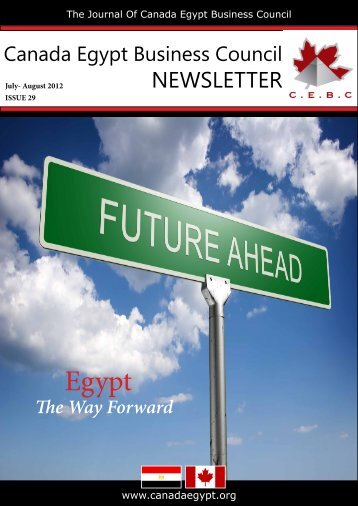NEWSLETTER - Canada Egypt Business Council