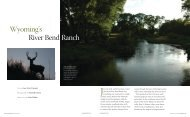 River Bend Ranch Wyoming's - Fay Ranches