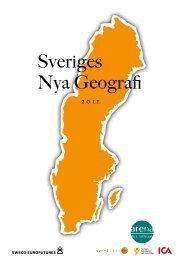 Sveriges Nya Geografi - Arena för tillväxt
