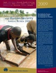 Diamonds and Human Security - Partnership Africa Canada