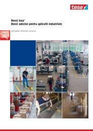 Catalog benzi adezive TESA pentru aplicații industriale