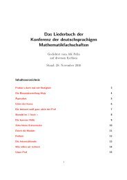 Das Liederbuch der Konferenz der deutschsprachigen - Koma