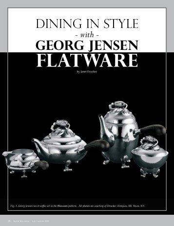 GEORG JENSEN FLAtWARE - CollectorsNet.com