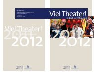 Viel Theater! Viel Theater! - Bad Oeynhausen