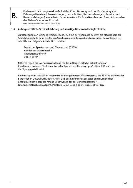 I. Persönliche Konten (Lohn-, Gehalts-, Rentenkonto)