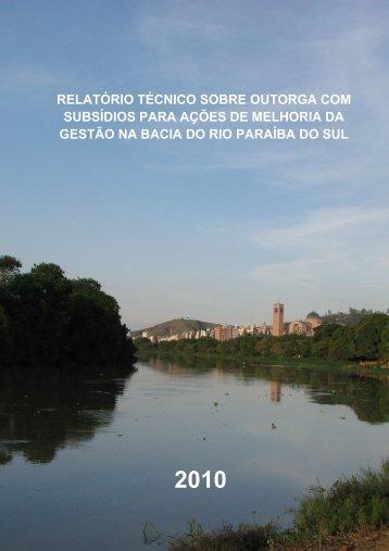 RELATÓRIO TÉCNICO SOBRE OUTORGA COM ... - ceivap
