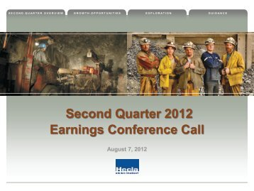 Q2 2012 Earnings Presentation - Hecla Mining Company