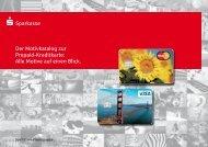 Der Motivkatalog zur Prepaid-Kreditkarte: Alle Motive auf einen Blick ...