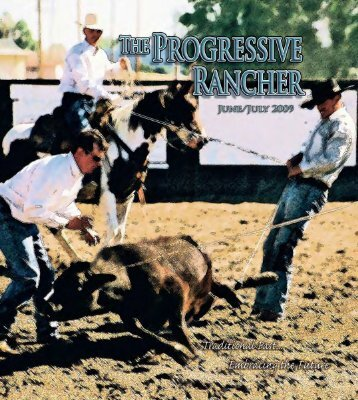 June-July 2009 Progressive Rancher - The Progressive Rancher ...