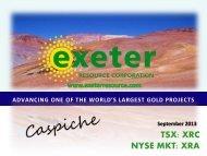 Download 3Mb PDF version - Exeter Resource