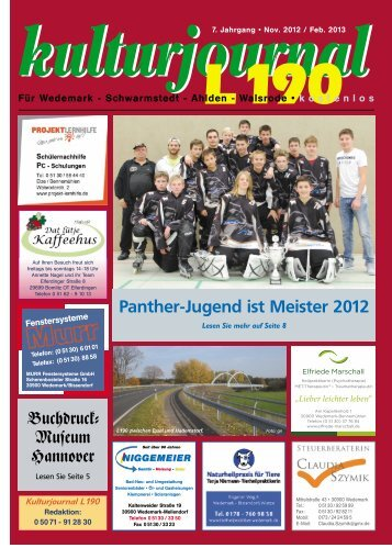 November/Februar 12/13 - Wedemark Journal und Kulturjournal190