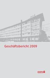 Anhang zum Jahresabschluss 2009 - OstseeSparkasse Rostock